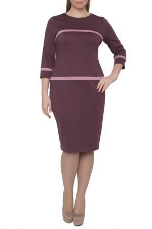 Платье Forus. Цвет: баклажановый