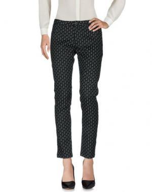 Повседневные брюки DESIGUAL by L. Цвет: черный