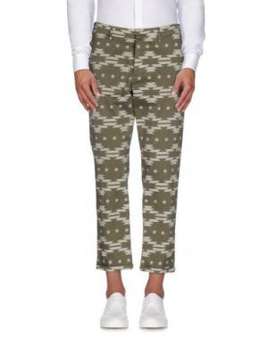 Повседневные брюки MC MASTER OF CEREMONIES. Цвет: зеленый-милитари