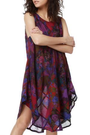 Платье Dewberry. Цвет: purple