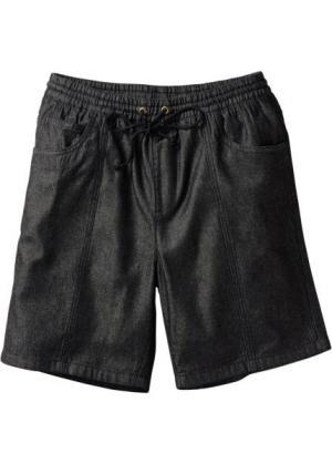 Бермуды Classic Fit (черный) bonprix. Цвет: черный