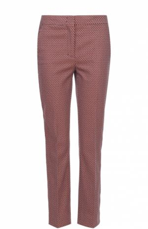 Укороченные расклешенные брюки со стрелками Dorothee Schumacher. Цвет: оранжевый