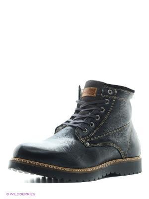Ботинки Goergo. Цвет: темно-серый