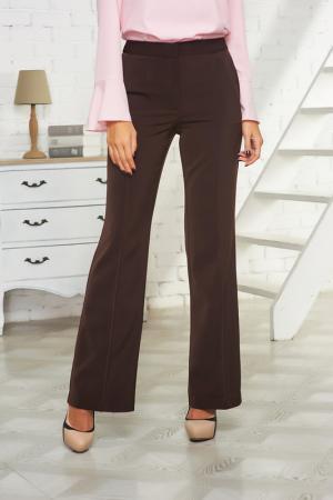 Расклешённые брюки Vittoria Vicci. Цвет: темно-коричневый