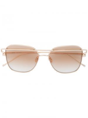 Солнцезащитные очки Jesse Sunday Somewhere. Цвет: металлический
