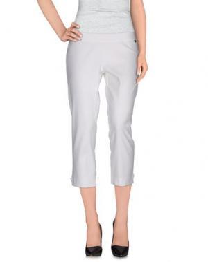 Повседневные брюки JUST FOR YOU. Цвет: белый