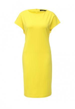 Платье Bestia. Цвет: желтый