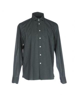 Pубашка BRANCACCIO C.. Цвет: темно-зеленый