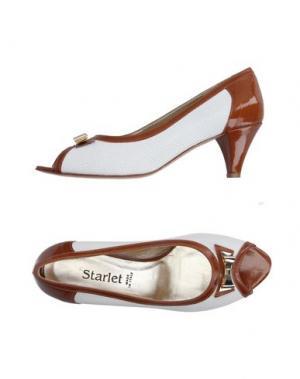 Туфли STARLET. Цвет: коричневый
