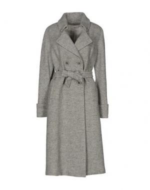 Пальто DIVINA by RGG GROUP. Цвет: светло-серый