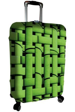 Чехол на чемодан SOVA COVER. Цвет: зеленый