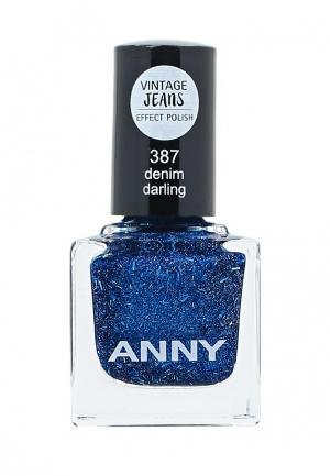 Лак Anny. Цвет: синий