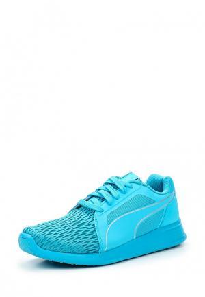 Кроссовки Puma. Цвет: голубой