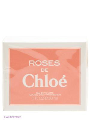 Туалетная вода Roses De Chloe, 30 мл CHLOE. Цвет: прозрачный