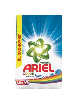 Стиральный порошок Touch of Lenor Fresh Color 4.5 кг Ariel. Цвет: белый, зеленый