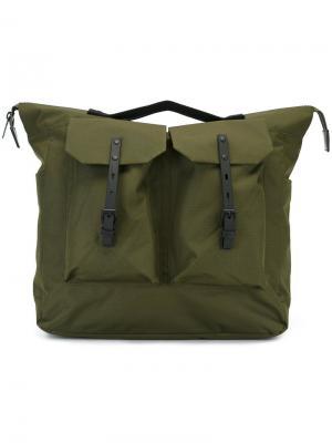 Большой рюкзак Frank Ally Capellino. Цвет: зелёный