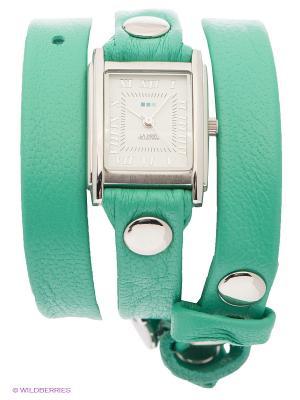 Часы La Mer Collections. Цвет: серебристый, бирюзовый