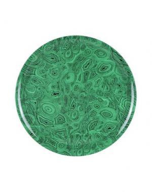 Поднос FORNASETTI. Цвет: зеленый