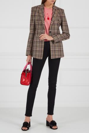 Текстильные мюли с помпонами Marc Jacobs. Цвет: черный