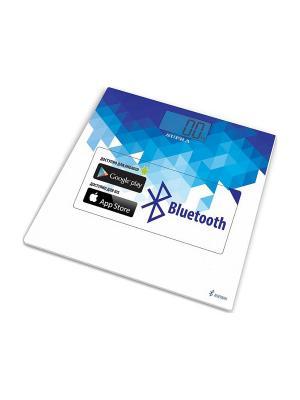 Весы напольные электронные Supra BSS-6000 синий/белый макс.150кг. Цвет: синий