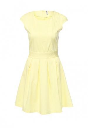 Платье Troll. Цвет: желтый