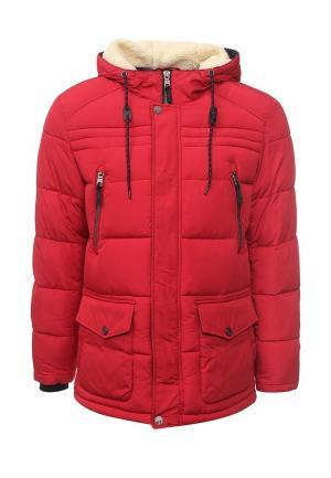Куртка утепленная Time For Future. Цвет: красный