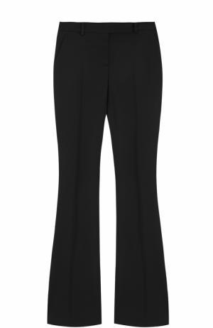 Расклешенные брюки со стрелками Alexander McQueen. Цвет: черный