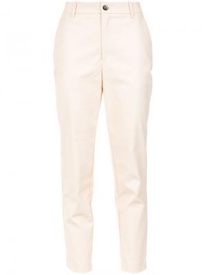 Cigarrette trousers À La Garçonne. Цвет: розовый и фиолетовый