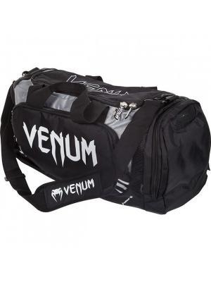 Сумка Venum Trainer Lite Sport Bag - Black/Grey. Цвет: черный, серый
