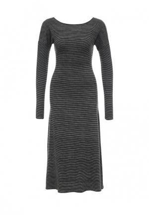 Платье Uona. Цвет: серый