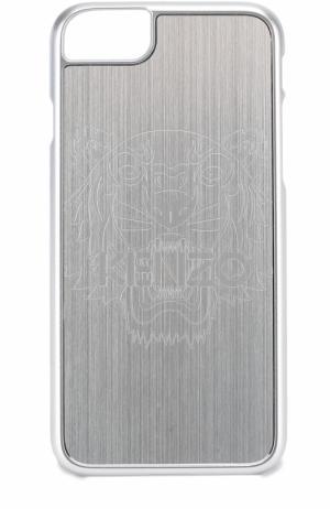 Чехол для iPhone 6S/6 с отделкой металлом Kenzo. Цвет: серебряный