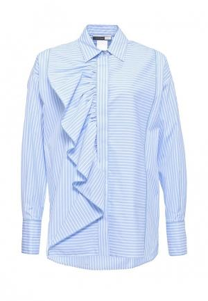 Рубашка Sportmax Code. Цвет: голубой
