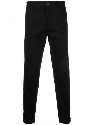Классические брюки-чинос Kent & Curwen. Цвет: чёрный