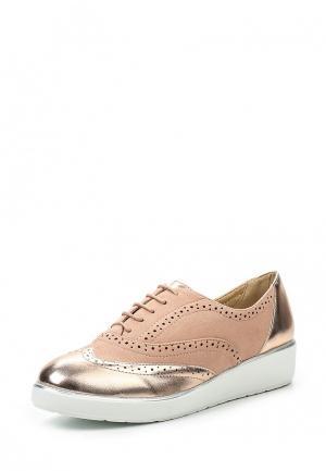 Ботинки Anesia. Цвет: розовый
