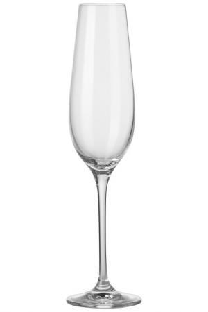 Бокал для шампанского, 6 шт. KROSNO. Цвет: мультицвет