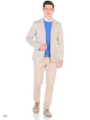 Пиджак Trussardi. Цвет: молочный