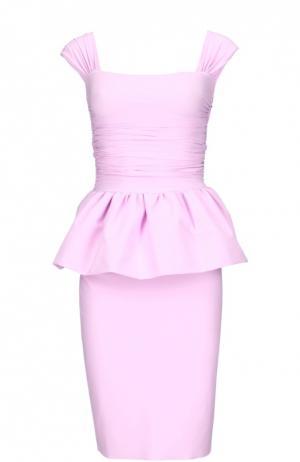 Платье La Petite Robe Di Chiara Boni. Цвет: розовый