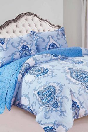 Постельное белье 2-сп., 70x70 Patrizia. Цвет: голубой