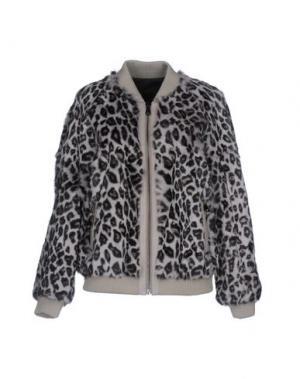 Куртка RAVN. Цвет: серый