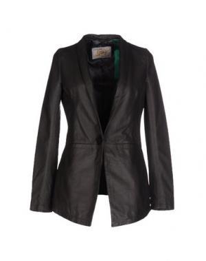 Пиджак VINTAGE DE LUXE. Цвет: свинцово-серый