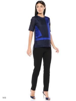 Блузка DKNY. Цвет: синий