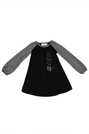 Платье VIADELLEPERLE VDP. Цвет: 130, черный