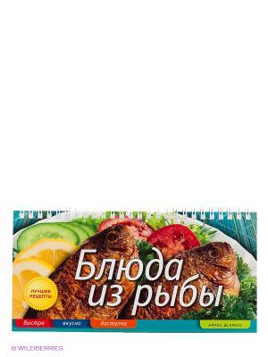 Блюда из рыбы АЙРИС-пресс. Цвет: зеленый