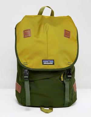 Patagonia Зеленый рюкзак Arbor. Цвет: зеленый