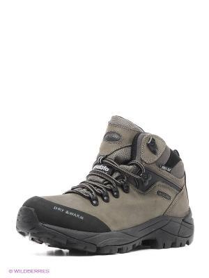 Ботинки Escan. Цвет: хаки, серый