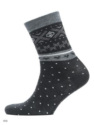 Носки женские, комплект 2 шт. Skinija. Цвет: черный