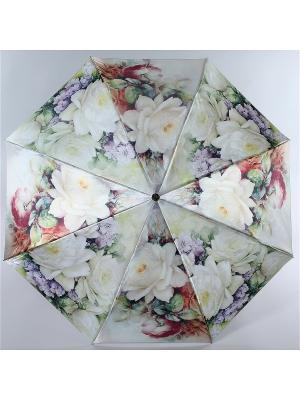 Зонт Trust. Цвет: белый, бордовый, желтый
