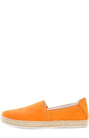 Эспадрильи Barrett. Цвет: оранжевый