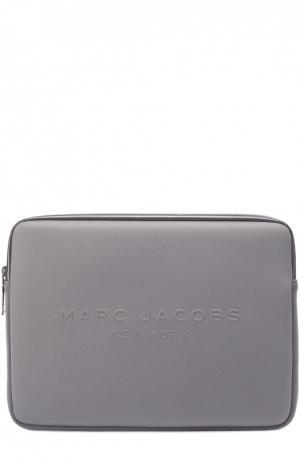 Чехол для ноутбука Marc Jacobs. Цвет: серый