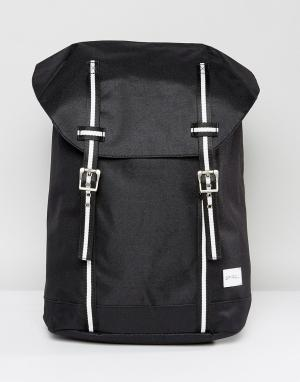 Spiral Рюкзак из парусины. Цвет: черный